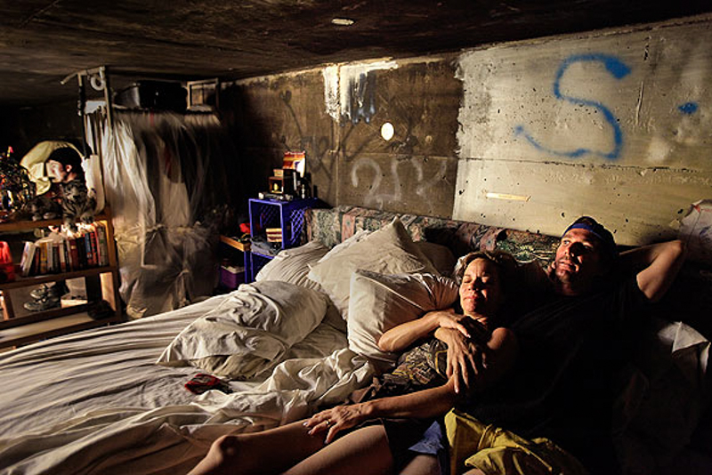 Inside The Tunnels Las Vegass Homeless Population Calls Home