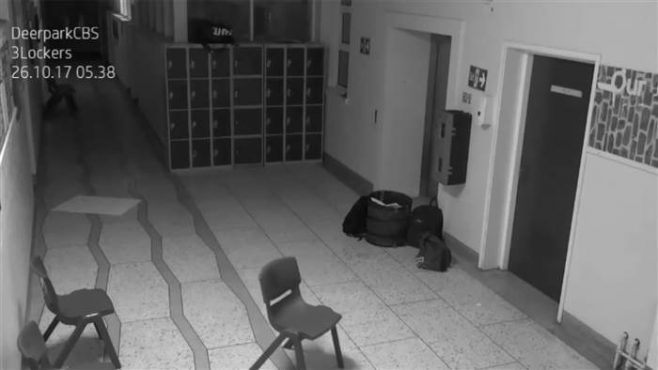 Ghost On Camera in Ireland